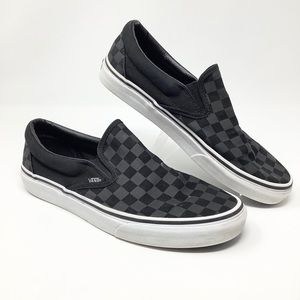 Vans Unisex Checkers Women's Shoes Size.10